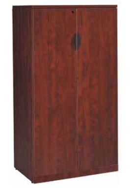 "Two Door Laminate Storage Cabinet 66"" Height - Duckys Office Furniture"