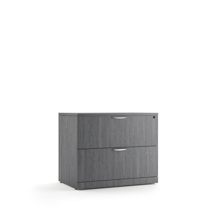 Two Drawer Laminate Lateral File - Duckys Office Furniture