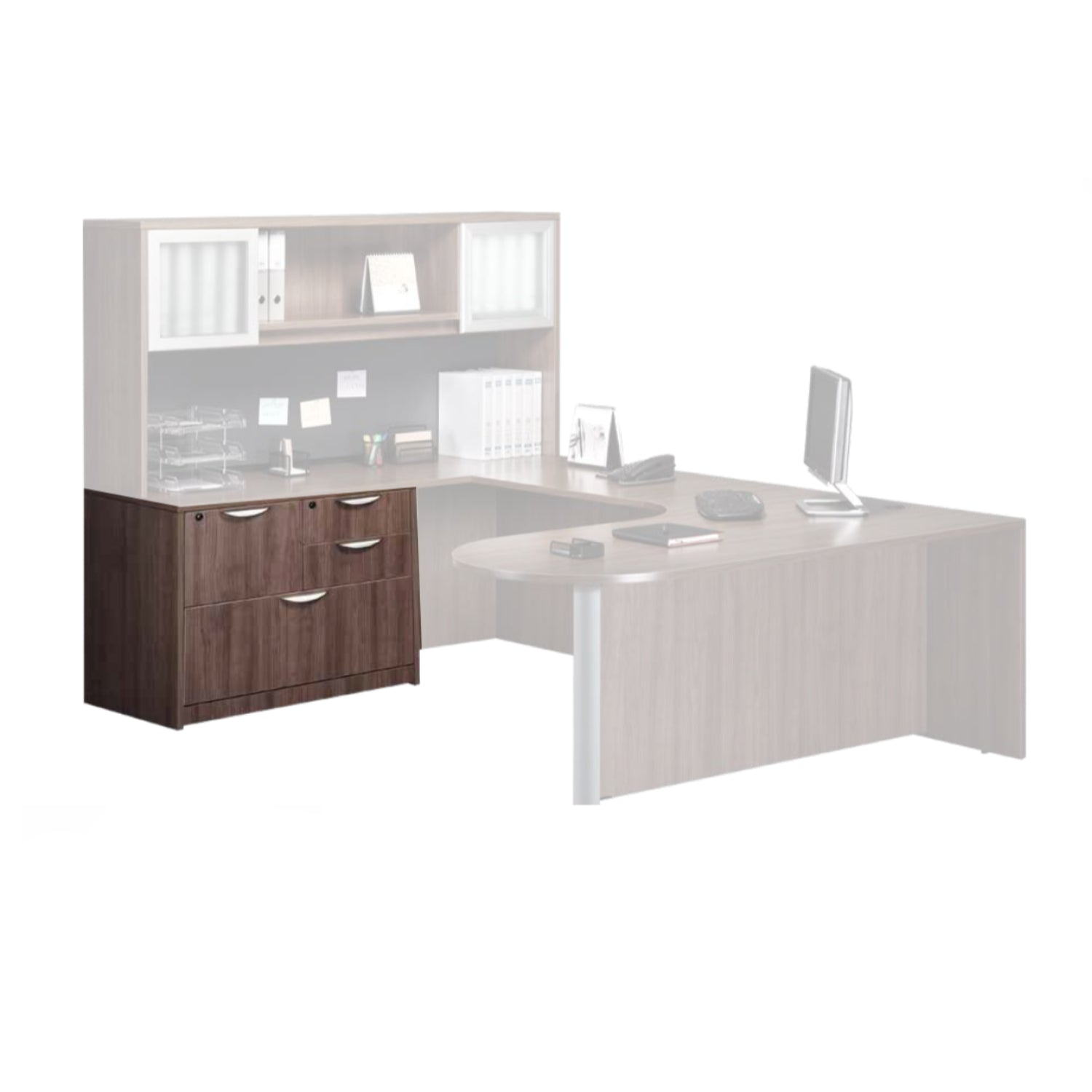 Performance - Combination Laminate Lateral File with Removable Top - Duckys Office Furniture