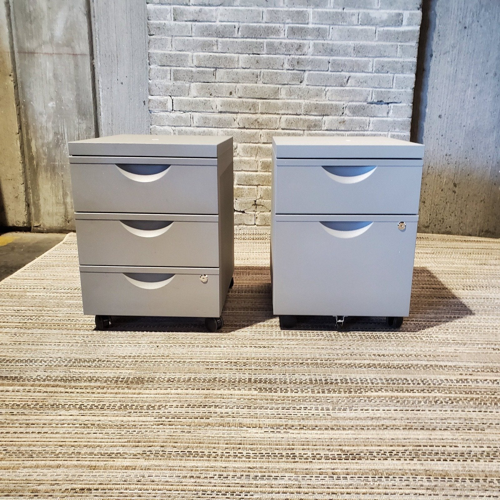 Pre-Owned - Pre-Owned Ikea Mobile Pedestals - Duckys Office Furniture
