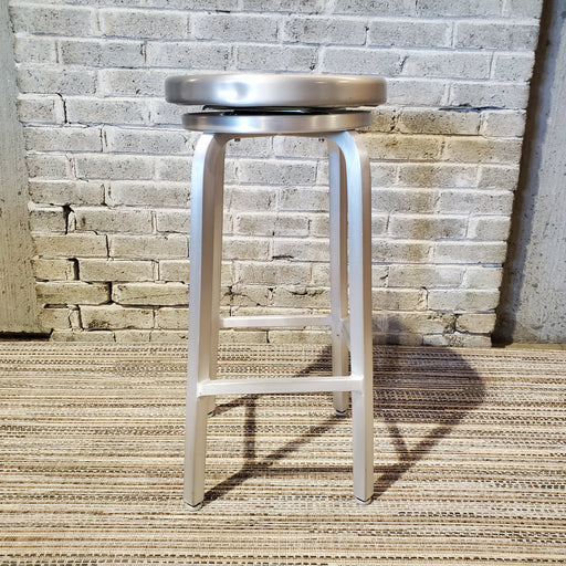 Used Aluminum Swivel Bar Stools - Duckys Office Furniture