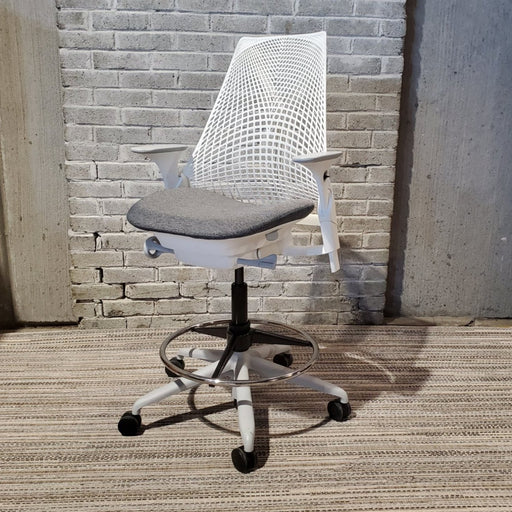 USED HERMAN MILLER SAYL DRAFTING CHAIR - Duckys Office Furniture