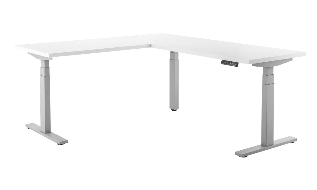 Element - Titan Core Corner L Height Adjustable Standing Desk - Duckys Office Furniture
