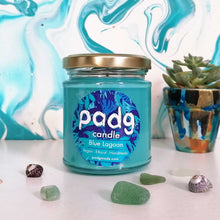 Load image into Gallery viewer, Blue Lagoon - Turquoise padg candle - padgmade