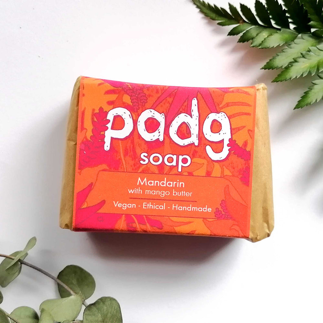 padg soap - Mandarin with mango butter - padgmade