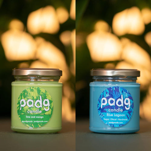Beach Vibes - padg candle twin box