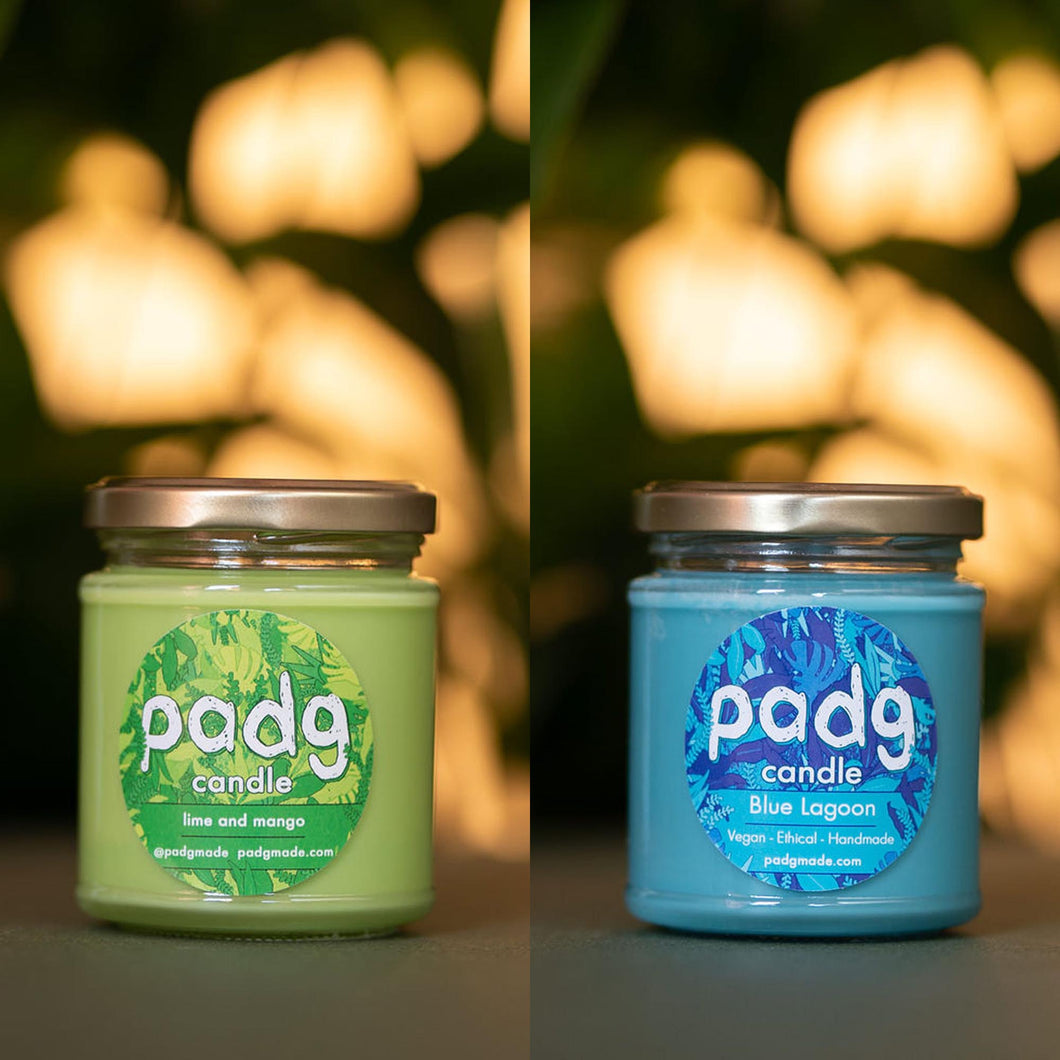 Beach Vibes - padg candle twin box - padgmade