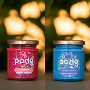 Fruity & Floral - padg candle twin box - padgmade