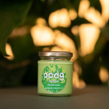 Load image into Gallery viewer, Lime and Mango - Green padg candle - padgmade