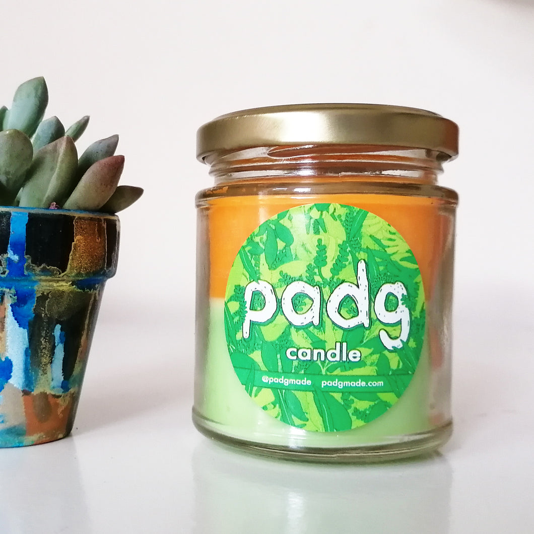 Lime Basil and Mandarin - Limited edition padg candle - padgmade