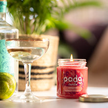 Load image into Gallery viewer, Pomegranate - Red padg candle - padgmade