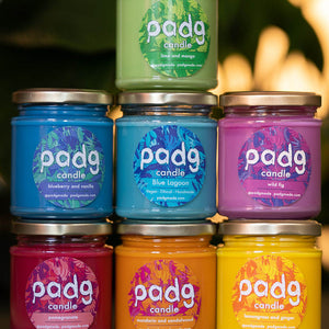 padg candle rainbow box 🌈 - padgmade