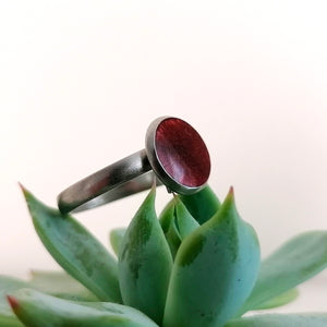 Vibrant adjustable rings - by Paige Alexander - padgmade