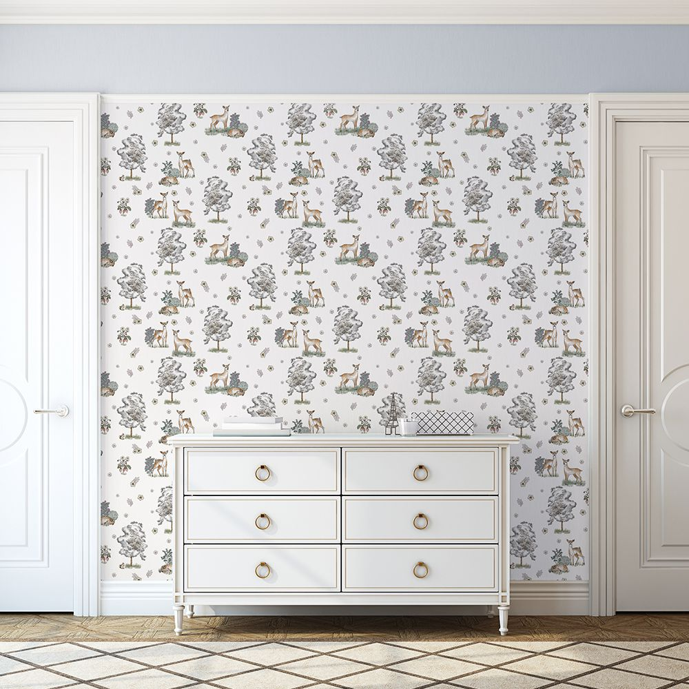 Aida's Doe wallcovering