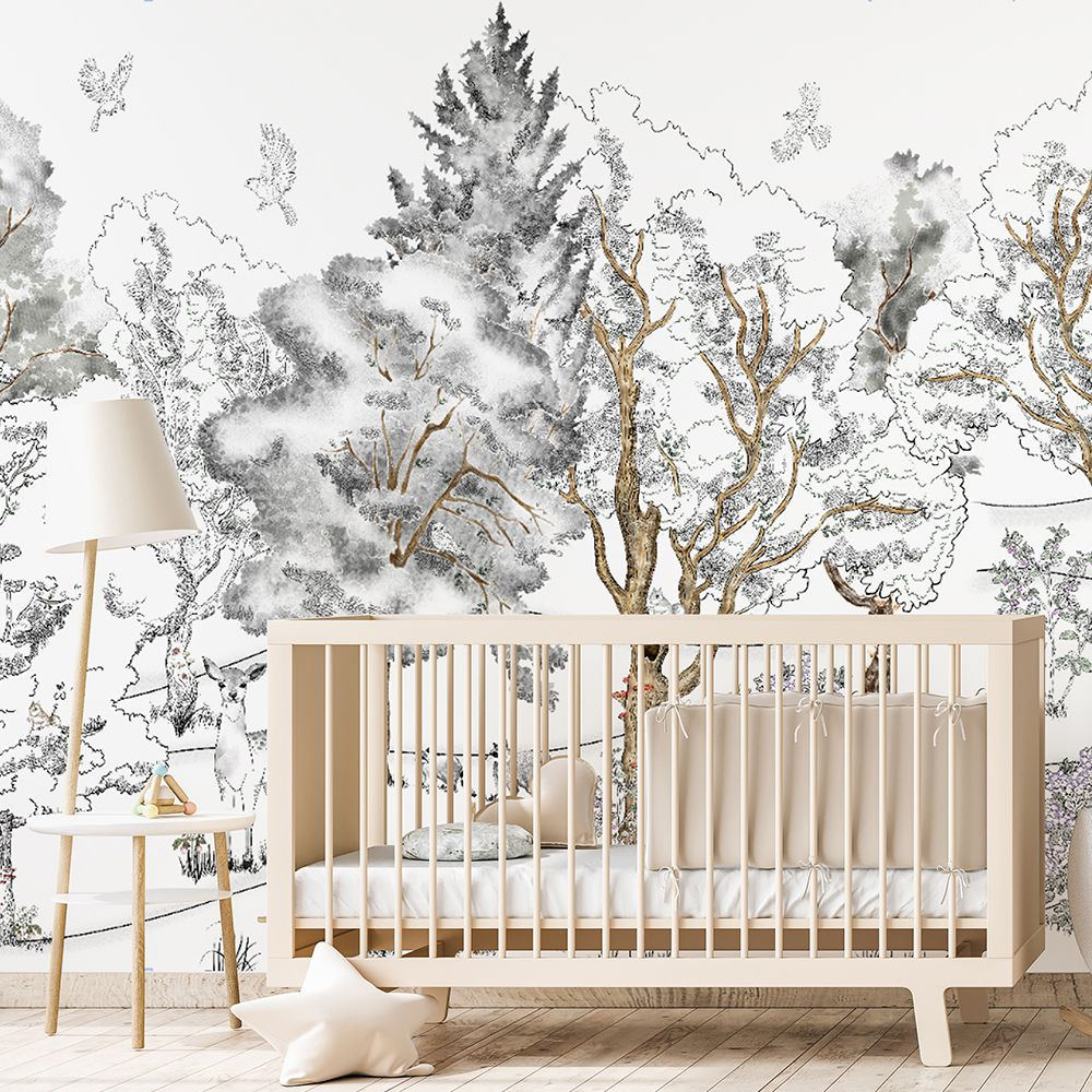 Adrian's Backyard tapet wallcovering