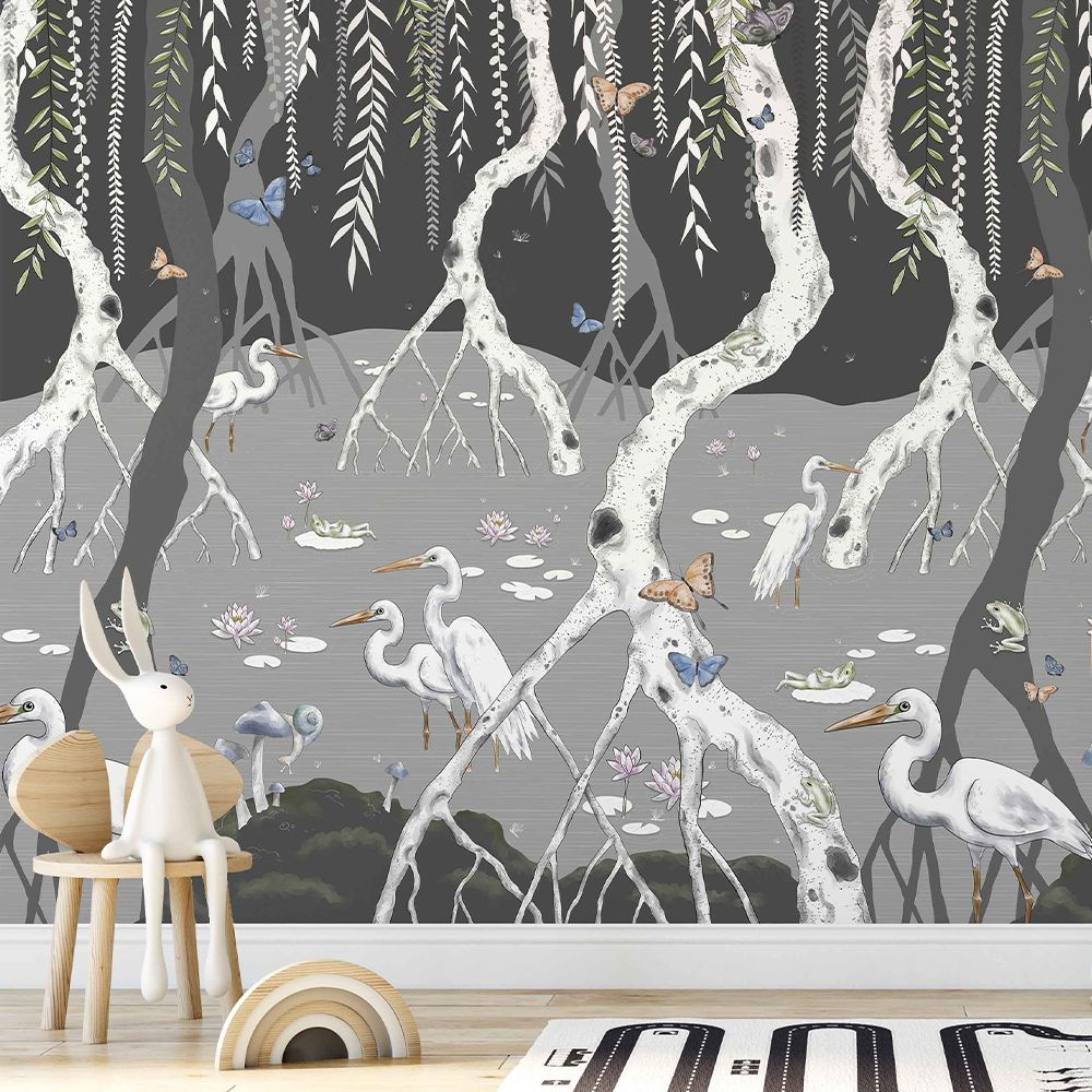 Ava's Everglade wallcovering