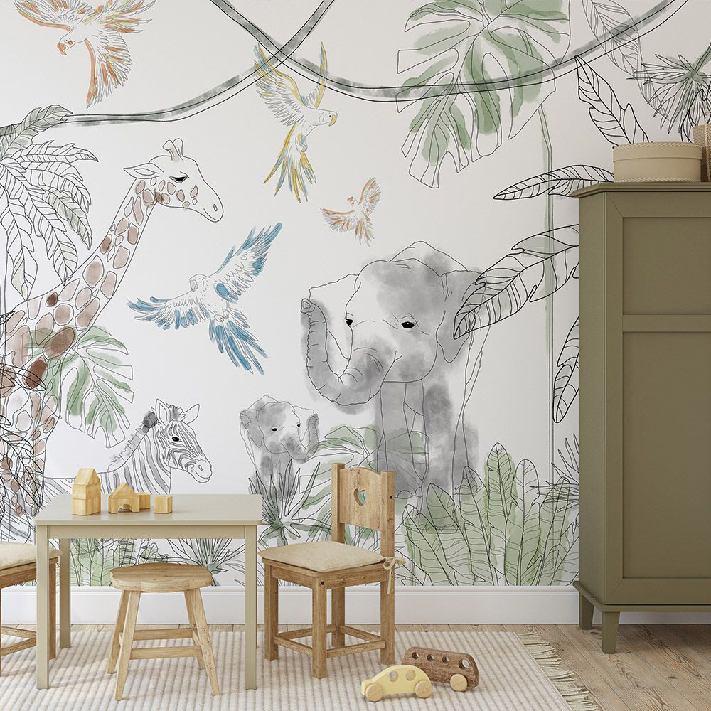 Filip's safari wallcovering wallpaper
