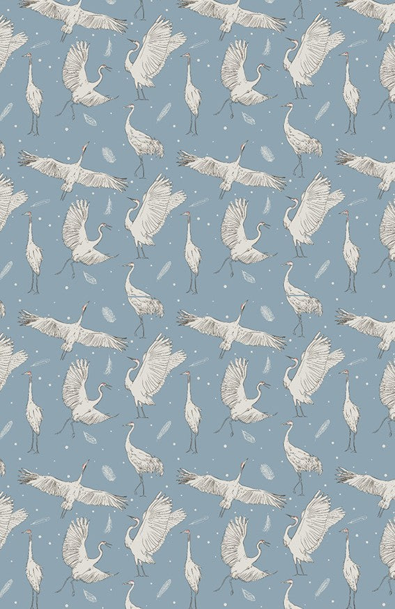 Pure Feathers wallcovering aesthetic kids