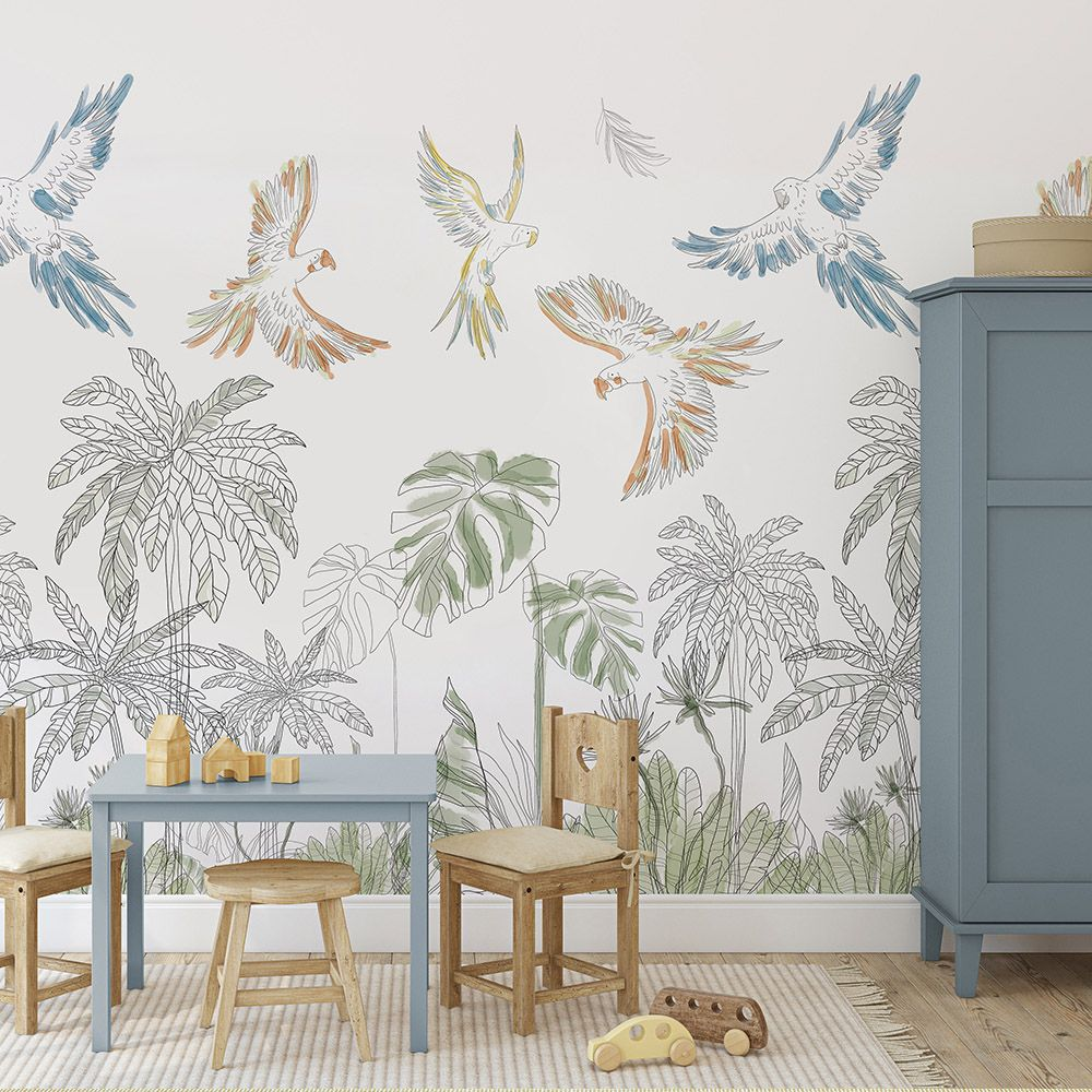 sophie's friends wallcovering