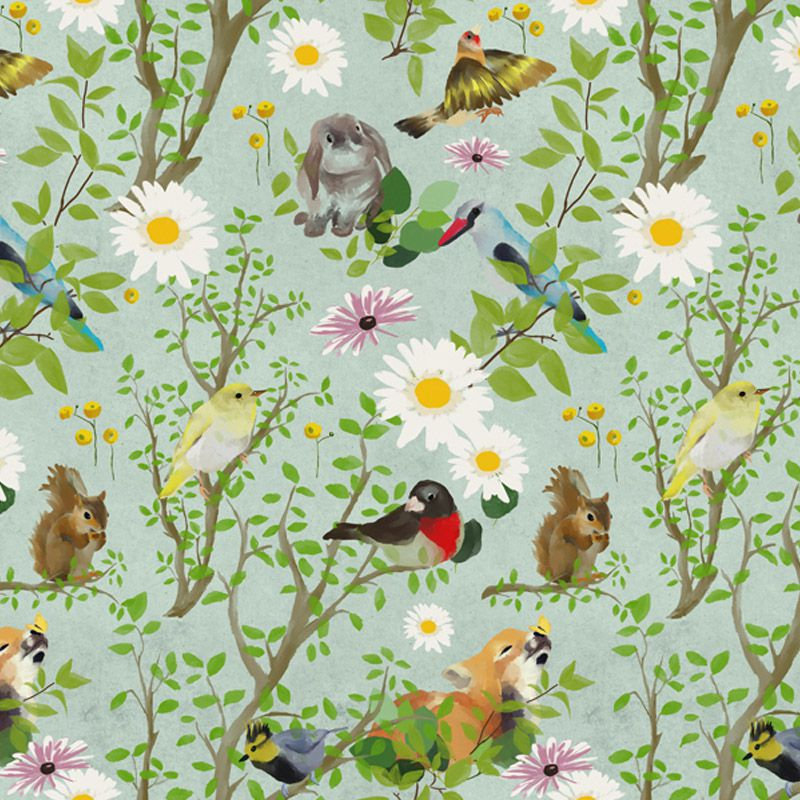 fairy forest green aedkids wallpaper