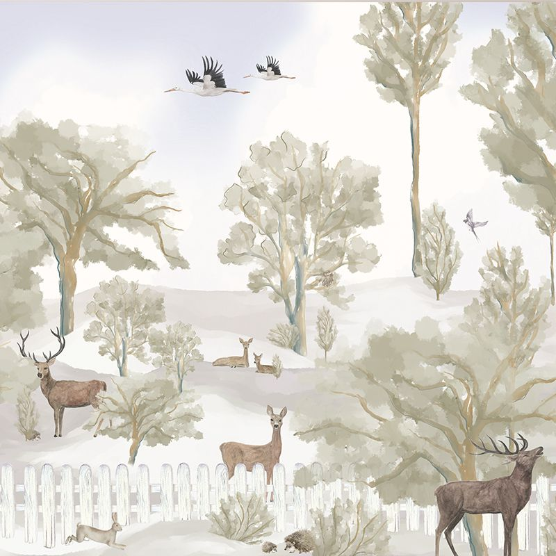 Fawn forest aedkids wallpaper