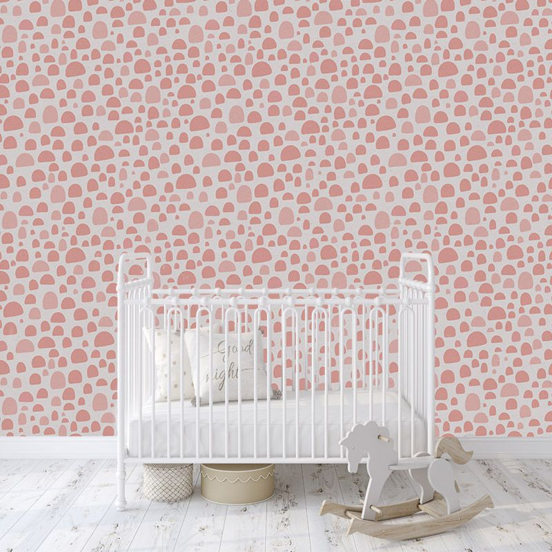 little pink dots aedkids wallpaper