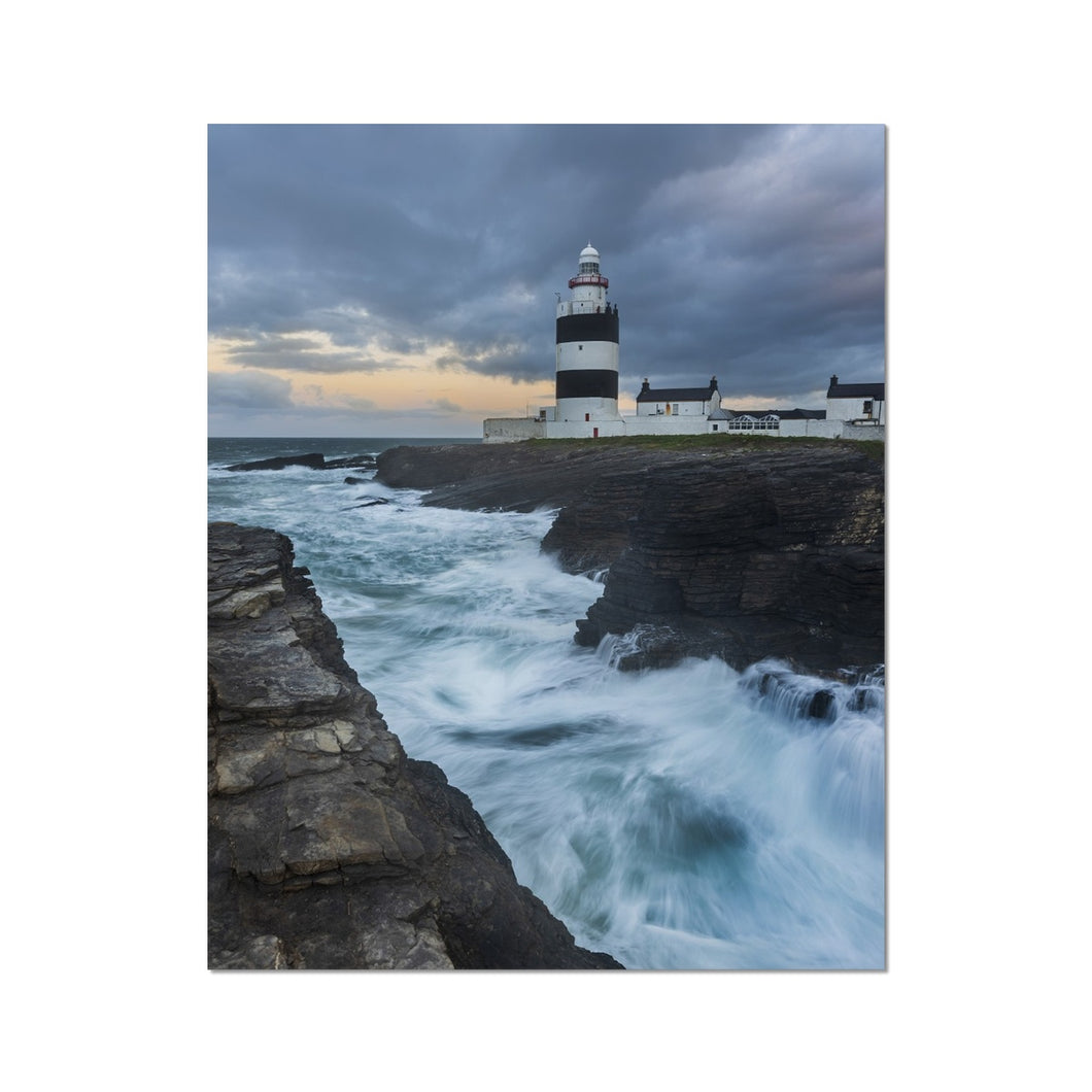 Hook Lighthouse Fine Art Print