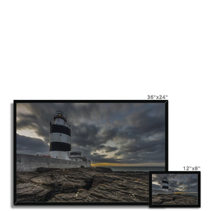 Hook Lighthouse Framed Print