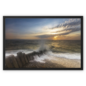 Dunany Framed Canvas