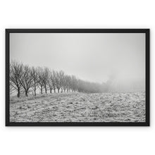 Load image into Gallery viewer, Frosty Morning Framed Canvas