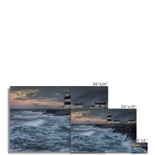 Load image into Gallery viewer, Hook Lighthouse Photo Art Print