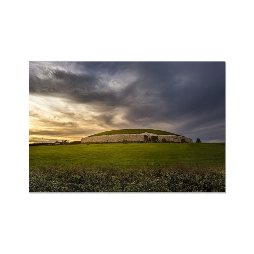 Newgrange Photo Art Print