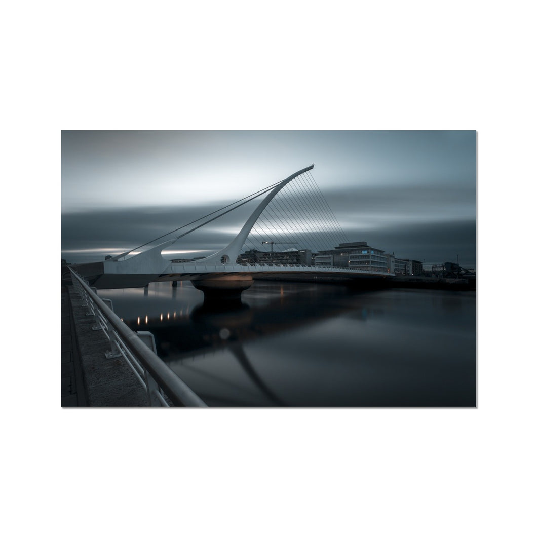 Samuel Beckett Bridge Fine Art Print