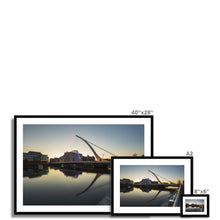 Load image into Gallery viewer, Samuel Beckett Bridge Framed & Mounted Print