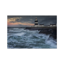Load image into Gallery viewer, Hook Lighthouse Hahnemühle German Etching Print