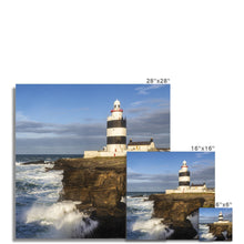 Load image into Gallery viewer, Hook Lighthouse Fine Art Print