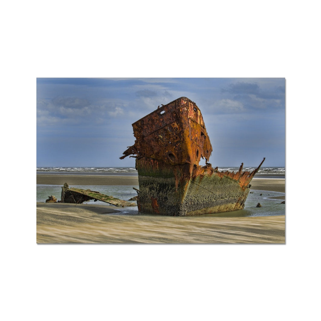 Baltray Shipwreck Fine Art Print