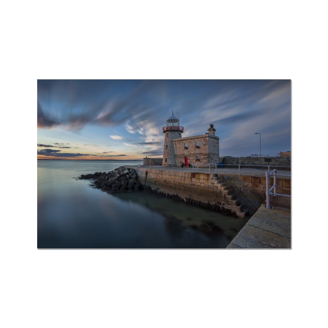 Howth Lighthouse  Fine Art Print