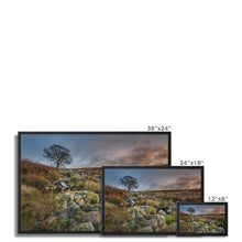 Load image into Gallery viewer, Wicklow Mountains Framed Canvas