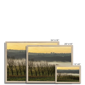 Boyne Valley Framed Print