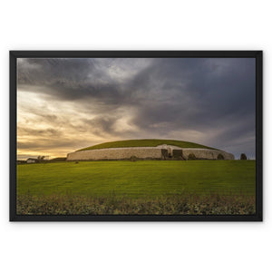 Newgrange Framed Canvas