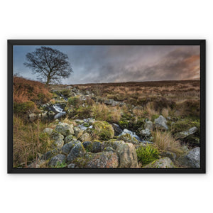 Wicklow Mountains Framed Canvas