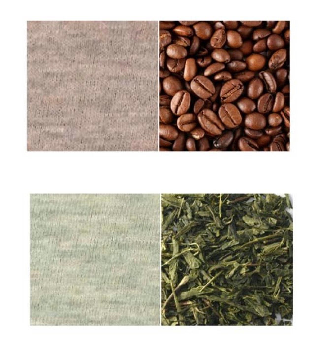 MADE IN JAPAN, GREEN TEA & COFFEE DYED, ORGANIC COTTON, ZERO WASTE FACE MASKS (Women's & Men's)