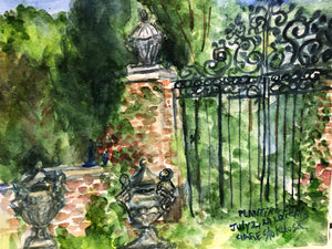 Gate in The Aurboretum