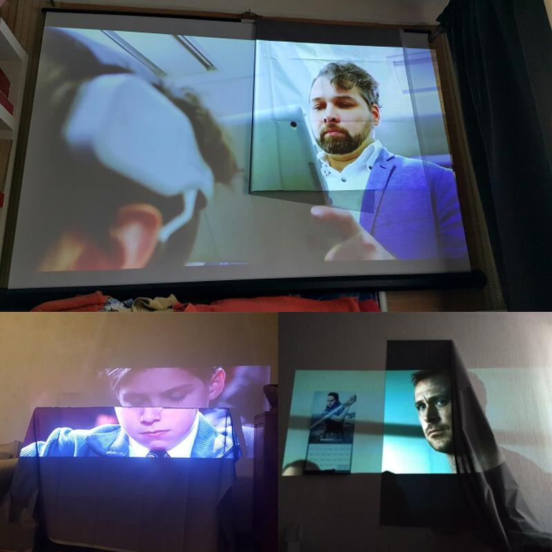 Mini Projector Screen
