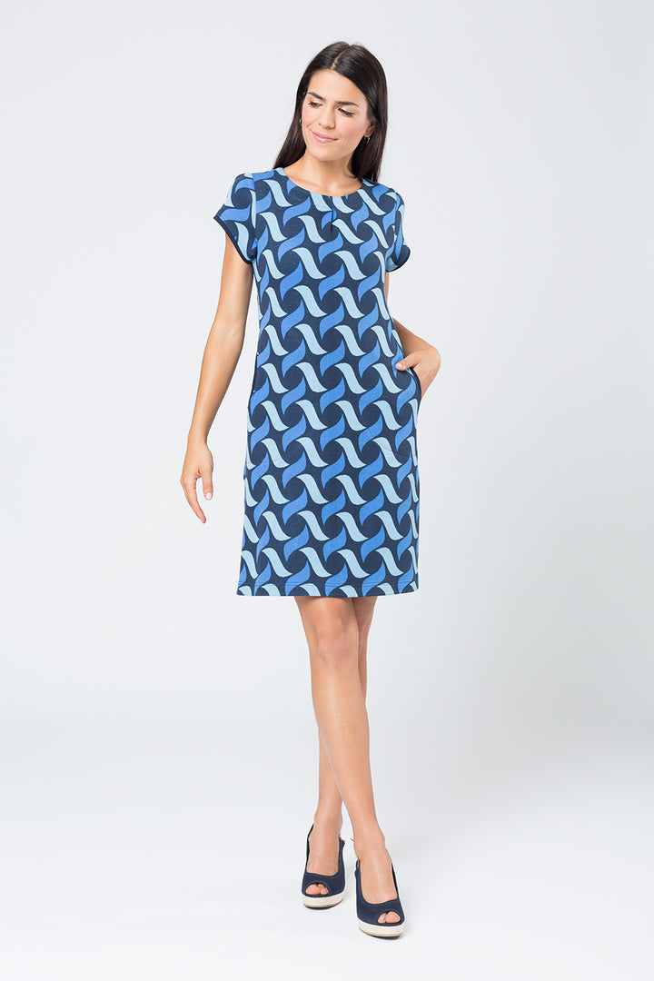 Kleid »Hanna« Blue Wave