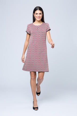 Kleid »Hanna« Red Kaleidescope
