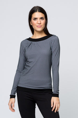 Top »Jane« Grey Hexagon