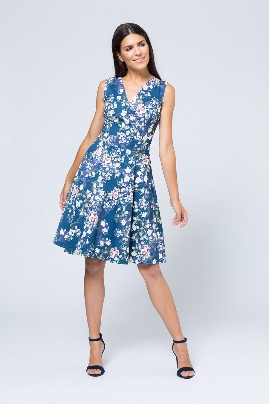 Kleid »Felicitas« Blue Asian Summer