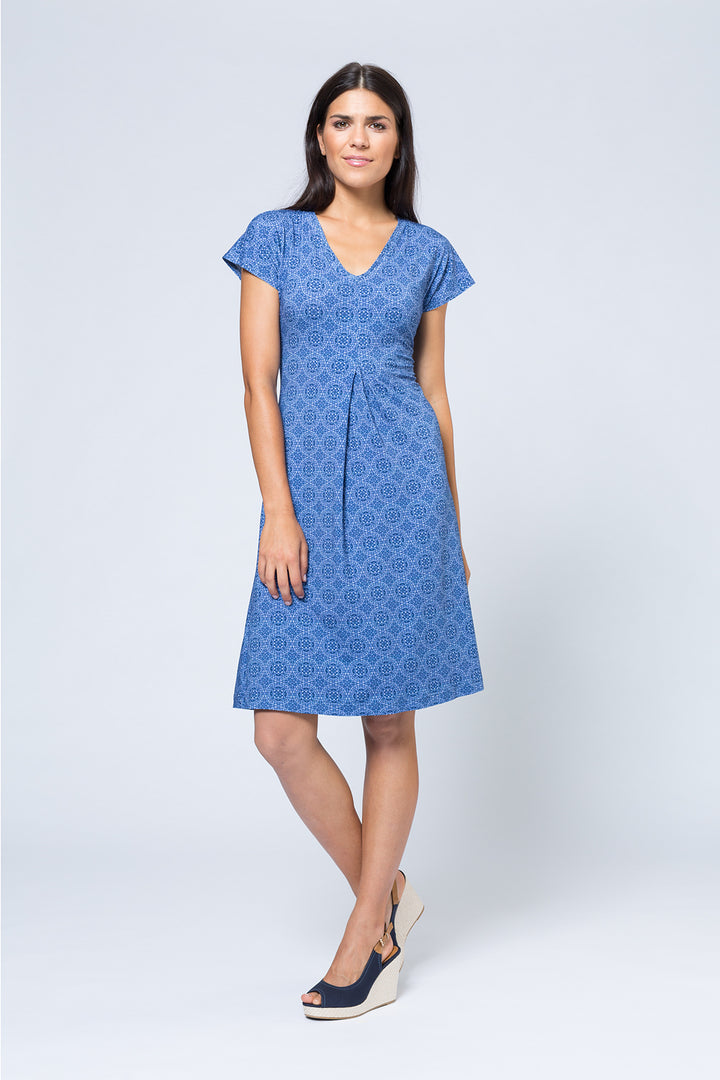Kleid »Loni« Blue Circle